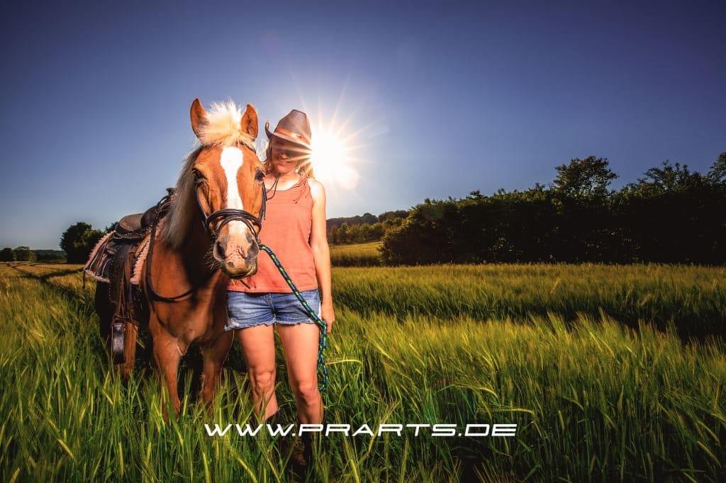 Das erste Pferdeshooting