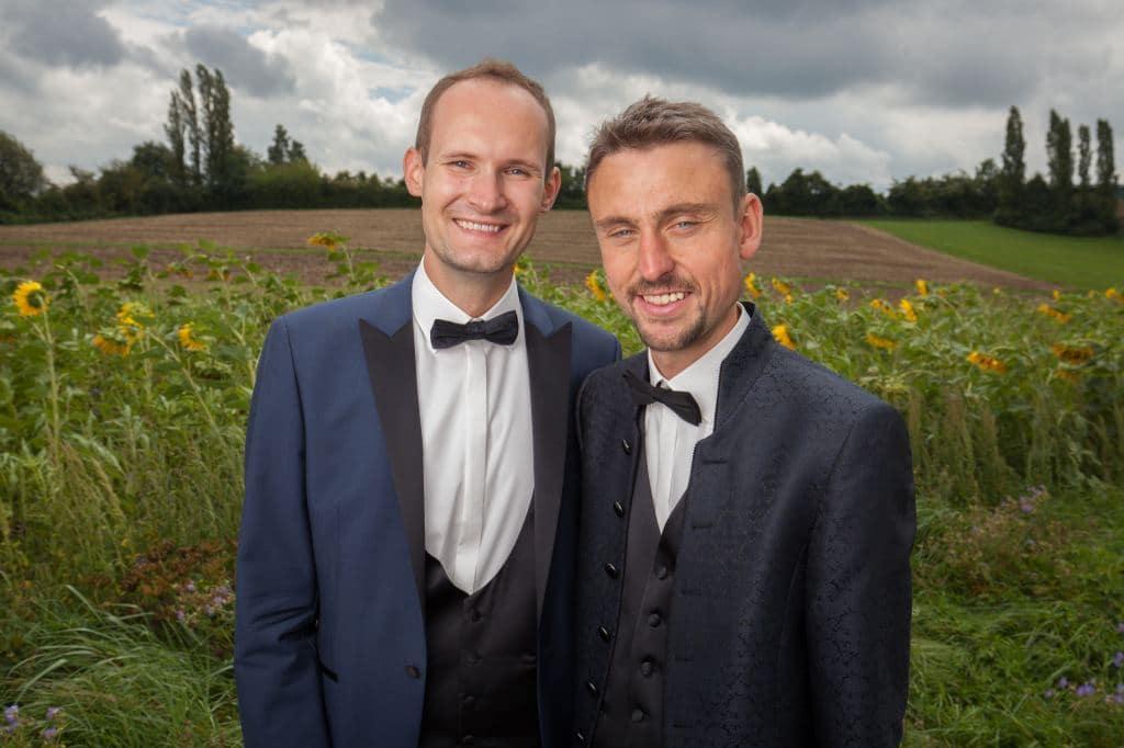 Hochzeit Robert und Thomas