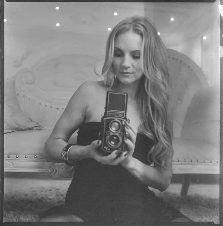 Portrait mit einer Rolleiflex und kiev88